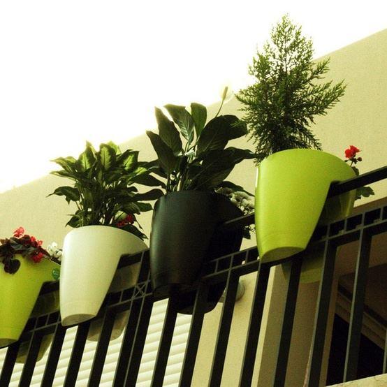 Para Sacadas Vasos De Flores Sacada Ideias Criativas Para Decoracao~ Vasos Para Decoracao De Interiores