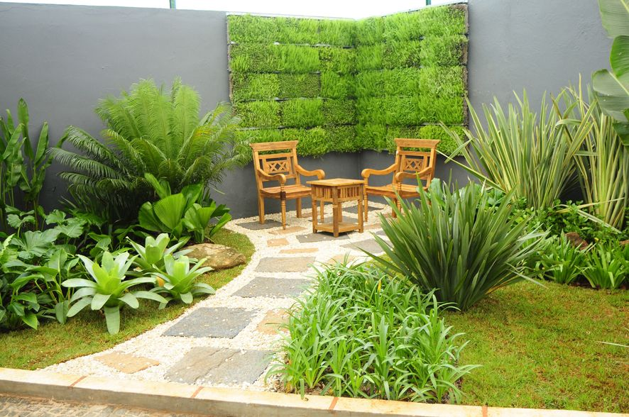 plantas e jardins ornamentais : plantas e jardins ornamentais:Garden Design Ideas with Pebbles